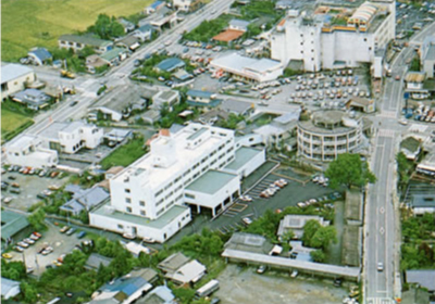 昭和56年ごろ撮影の菊池中央病院
